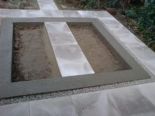 Alun Gedrych - Concrete Base for Green House