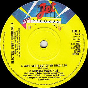 The ELO EP Jet ELO 1