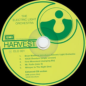 Electric Light Orchestra - First Light Promo CD