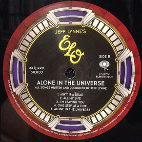 Alone In The Universe 88875145121 Side B