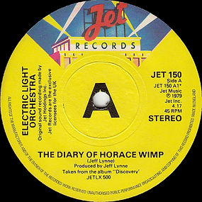 The Diary of Horace Wimp  Promo JET 150
