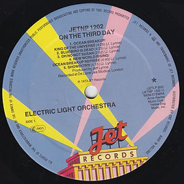 ELO - On The Third Day JET NPLP 202