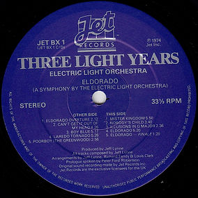 ELO Three Light Years BX1