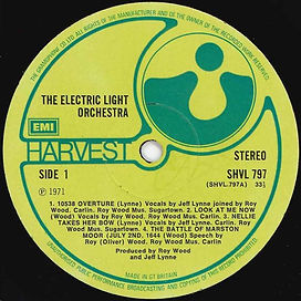 ELO LP SHV 797 Gramophone Issue - Version 1