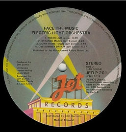 Face The Music JETLP 201