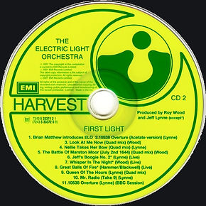 ELO First Light CD