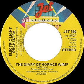 The Diary of Horace Wimp JET 150