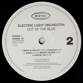 Out Of The Blue Simply Vinyl Side 2