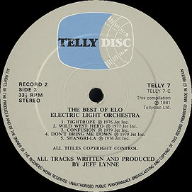 The Best of ELO - Telly7