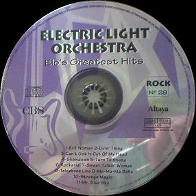 ELO Greatest Hits CD Rock 29 - Spain
