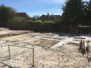 Alun Gedrych Ltd - Concreted Footings
