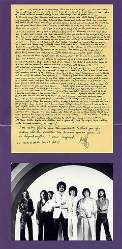 ELO Greatest Hits ZK 36310 Fold Out 2