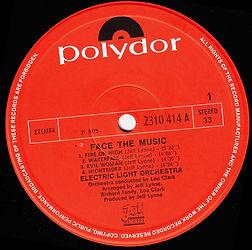 ELO Face The Music - 2310 414