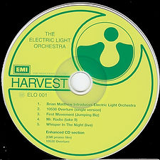 ELO First Light Promo CD ELO 001