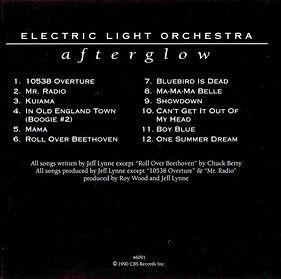 Afterglow Z3K 46090 CD Booklet Rear 1