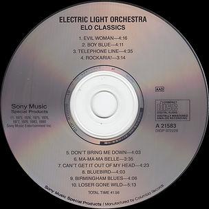 ELO Classics Priceless Issue CD A21583