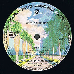 ELO - On The Third Day WB56021