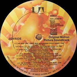 Joyride UA-LA784-H Sunburst Side 2