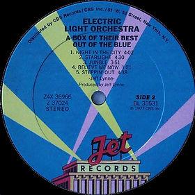 ELO Box Set Z4X 36966