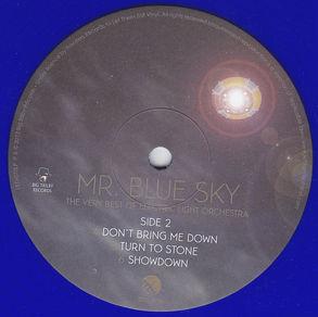 ELO - Mr.BlueSky LETVO70LP - Blue Vinyl