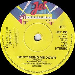 Don't Bring Me Down JET 153