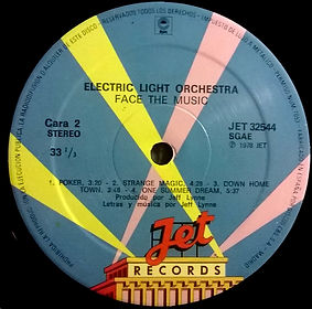Face The Music - JET 32544 - Spain