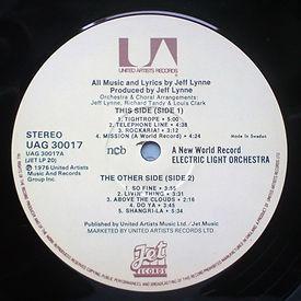 A New World Record UAG 30017 / Jet LP 20