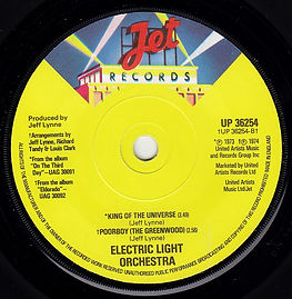 Telephone Line Promo B Side UP 36254 with incorrect track order