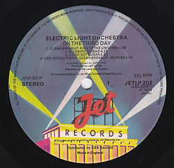 ELO - On The Third Day JetLP 202 / UAG 30091
