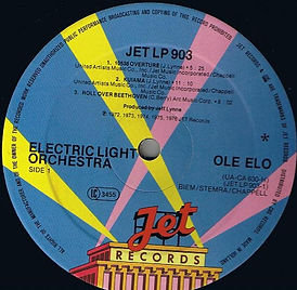 OLE ELO JET LP 903 With Star