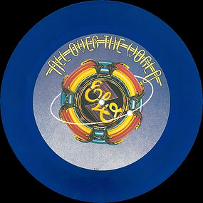 All Over The World Blue Vinyl JET 10 195