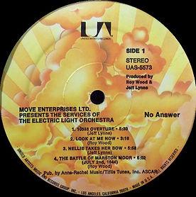 No Answer UAS 5573 Sunburst Label - USA
