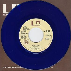 Livin Thing JET UP 36184 - Blue Vinyl