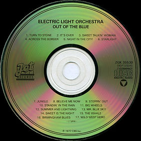 Out Of The Blue CD ZGK 35530 V4 DIDP Code