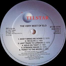 Very Best Of ELO Star 2370