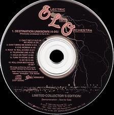 Destination Unknown Promo CD
