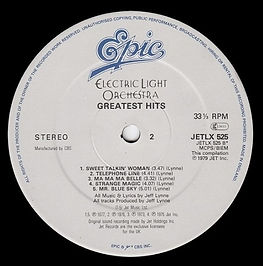 ELO Greatest Hits Jet LX525