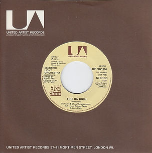 Fire On High Jet UP 36184 Blue Vinyl