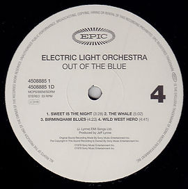 Out Of The Blue Simply Vinyl Side 4