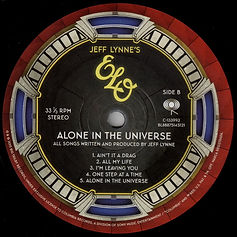 ELO Alone In The Universe LP