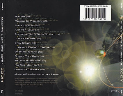 Zoom UK/Europe CD Rear Cover