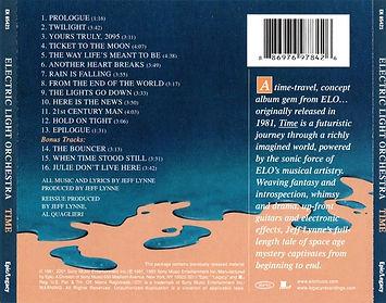 Time CD EK 85421 Bar Code 1