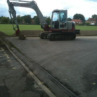 Alun Gedrych - Excavator Work