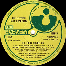The Light Shines On - Different Rim Text