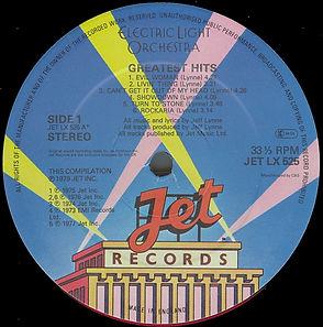 ELO Greatest Hits Jet LX525