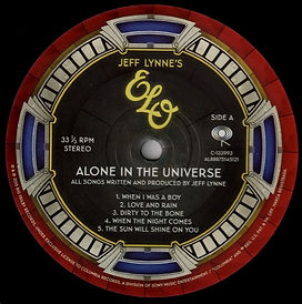 Along In The Universe 88875145121 LP Side A