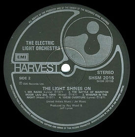 The Light Shines On - Black Label Side 2