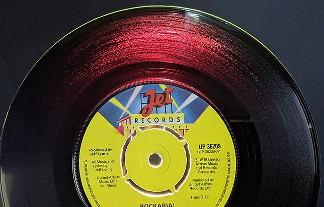 Rockaria! JET UP 36209 RED Translucentvinyl