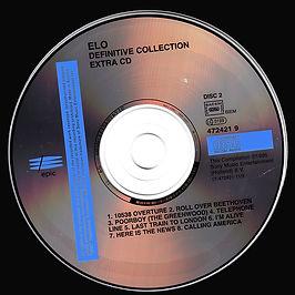 ELO Definitive Collection 472421 9