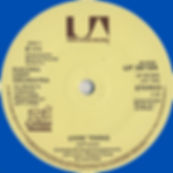 Livin Thing Blue Vinyl